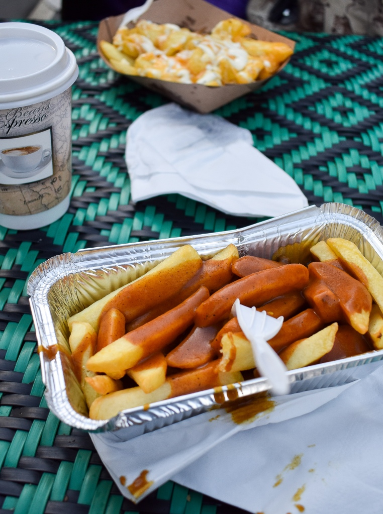 Irish Chips and Curry sauce - 10 Must Try Foods in Ireland