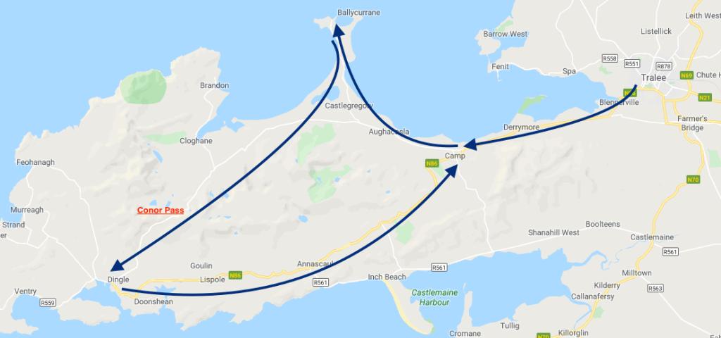 Ireland, 4 must try Irish road trips,  Conor Pass, Dingle