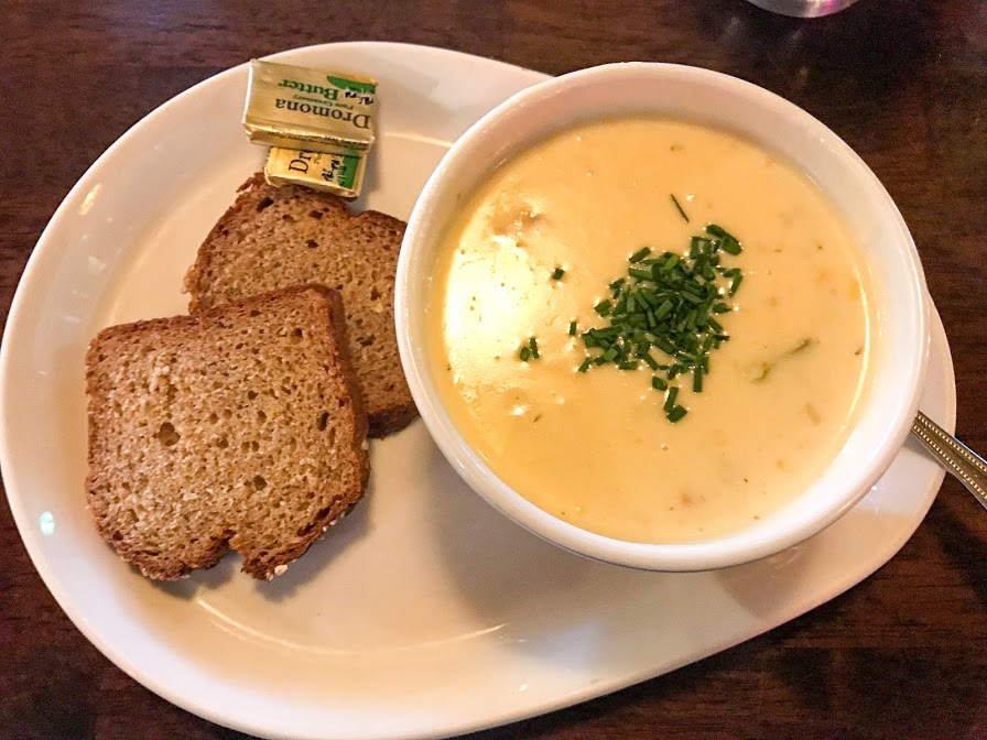 Irish Seafood Chowder - 10 Must Try Foods in Ireland