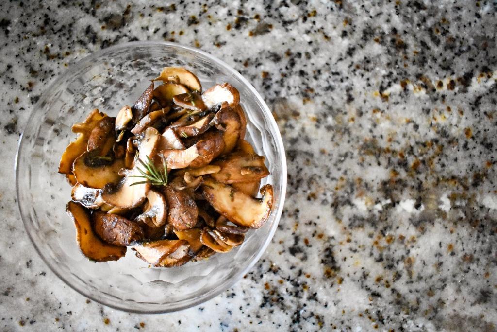 Maple Miso Mushrooms