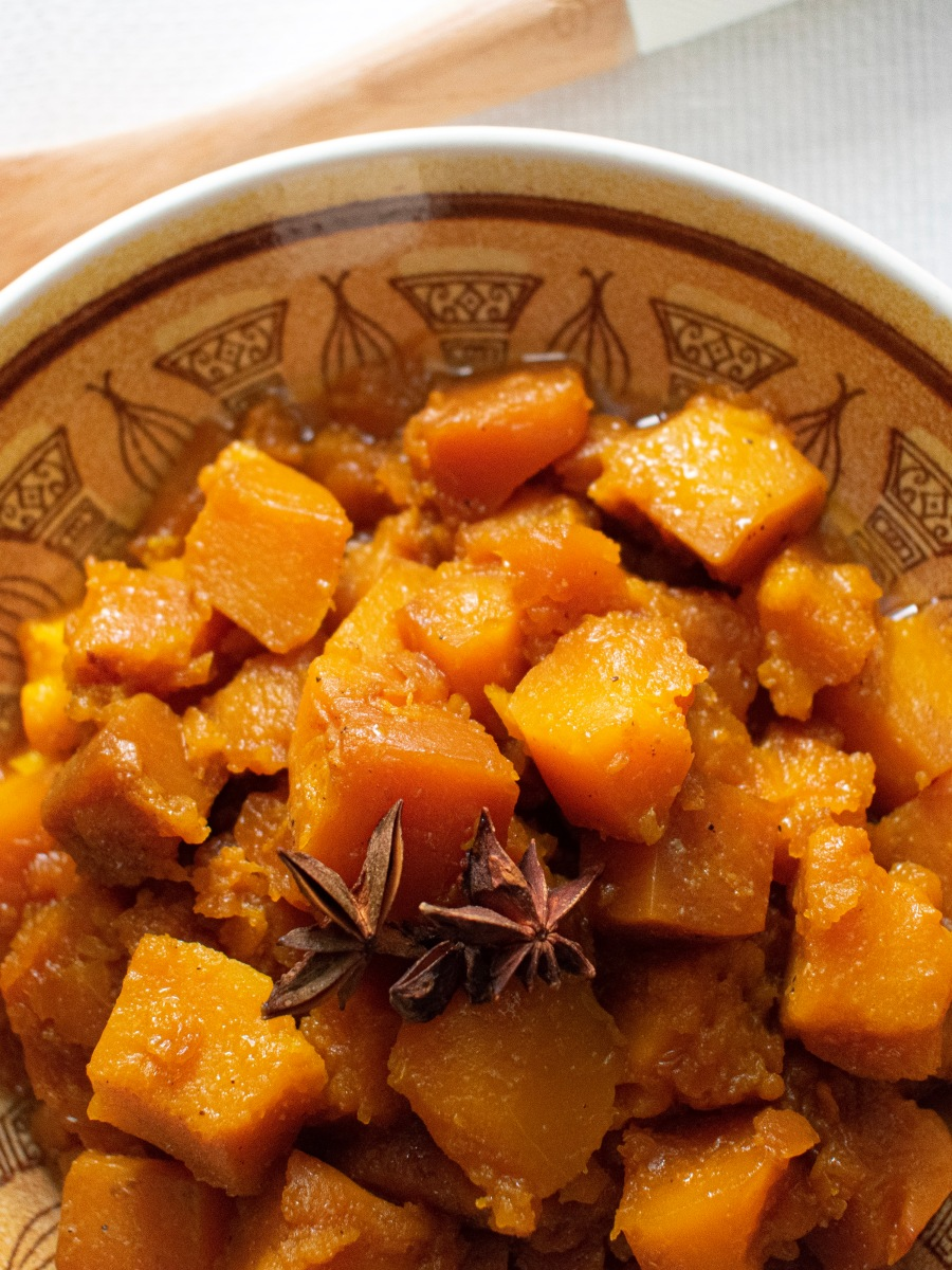 Slow Cooker Asian Kabocha Squash