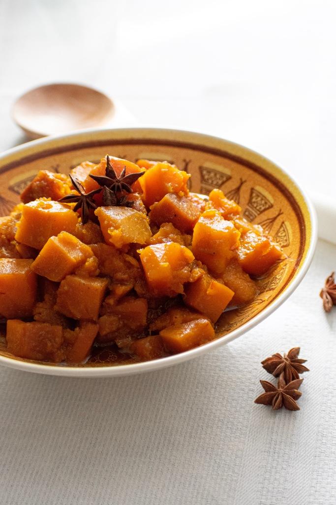 Slow cooker Asian kabocha squash