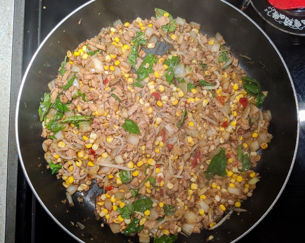 Spicy Thai Basil Pork - Pad Ka Prow Moo